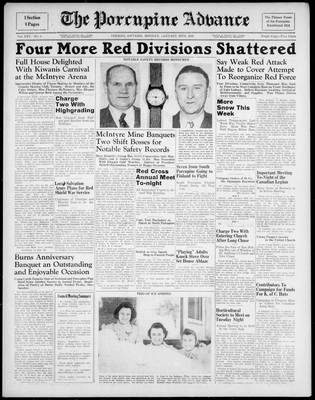 Porcupine Advance, 29 Jan 1940