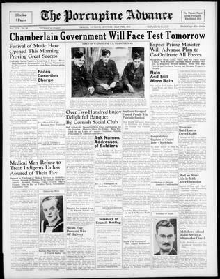Porcupine Advance, 6 May 1940
