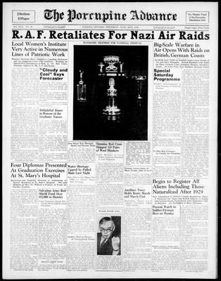 Porcupine Advance, 20 Jun 1940