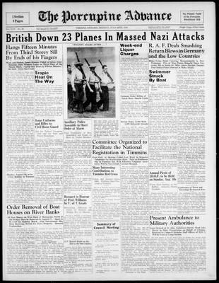 Porcupine Advance, 29 Jul 1940