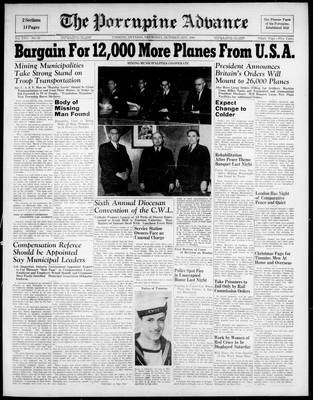 Porcupine Advance, 31 Oct 1940