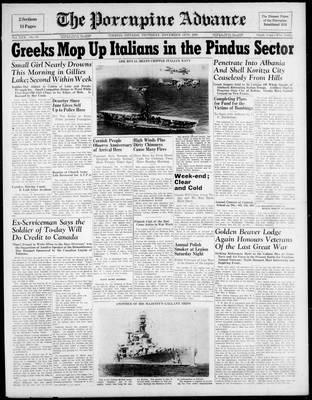 Porcupine Advance, 14 Nov 1940