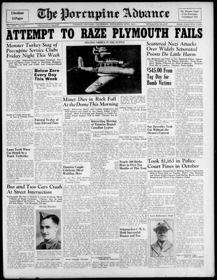 Porcupine Advance, 28 Nov 1940