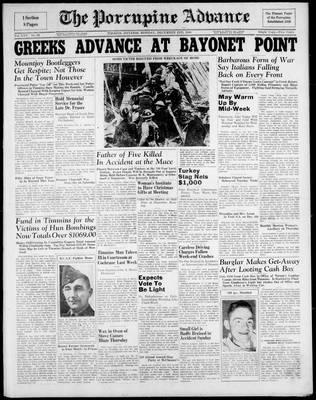 Porcupine Advance, 2 Dec 1940