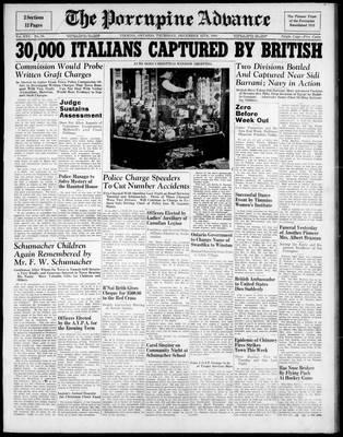 Porcupine Advance, 12 Dec 1940