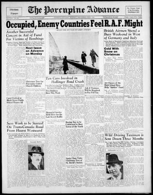 Porcupine Advance, 23 Dec 1940