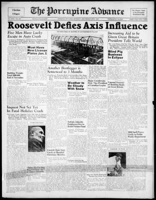 Porcupine Advance, 30 Dec 1940