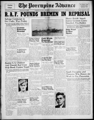 Porcupine Advance, 2 Jan 1941