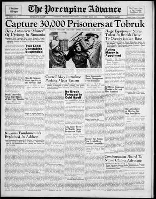 Porcupine Advance, 23 Jan 1941