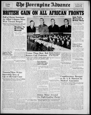 Porcupine Advance, 27 Jan 1941