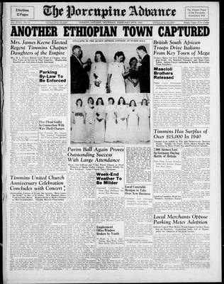 Porcupine Advance, 20 Feb 1941