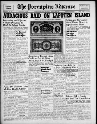 Porcupine Advance, 6 Mar 1941