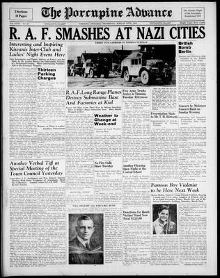 Porcupine Advance, 13 Mar 1941