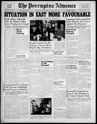 Porcupine Advance, 17 Mar 1941