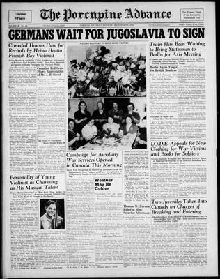 Porcupine Advance, 24 Mar 1941