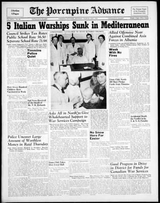 Porcupine Advance, 31 Mar 1941