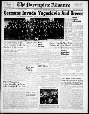 Porcupine Advance, 7 Apr 1941