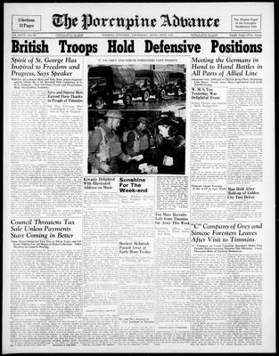 Porcupine Advance, 24 Apr 1941