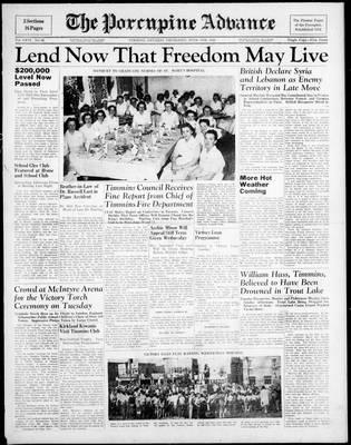 Porcupine Advance, 5 Jun 1941