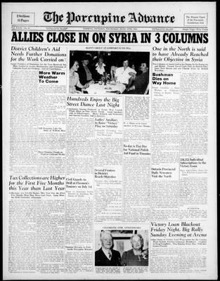 Porcupine Advance, 12 Jun 1941