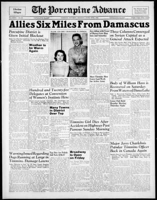 Porcupine Advance, 16 Jun 1941