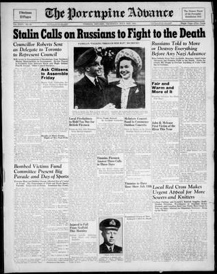 Porcupine Advance, 3 Jul 1941