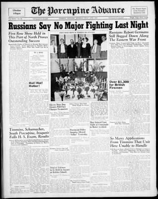 Porcupine Advance, 14 Jul 1941