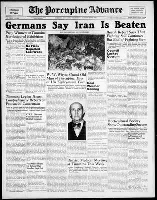 Porcupine Advance, 28 Aug 1941