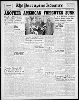 Porcupine Advance, 11 Sep 1941