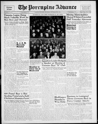 Porcupine Advance, 2 Oct 1941