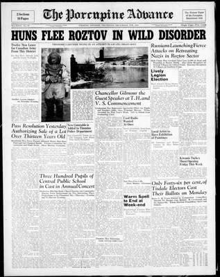 Porcupine Advance, 4 Dec 1941