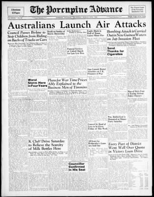 Porcupine Advance, 12 Mar 1942