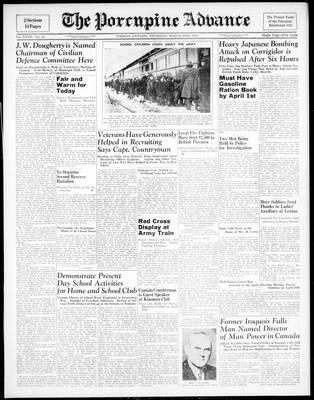 Porcupine Advance, 26 Mar 1942
