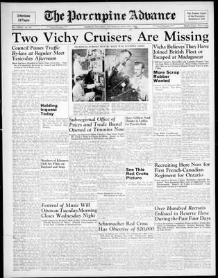 Porcupine Advance, 7 May 1942
