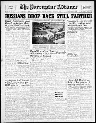 Porcupine Advance, 16 Jul 1942
