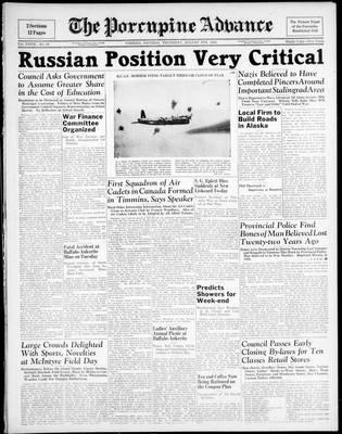 Porcupine Advance, 6 Aug 1942