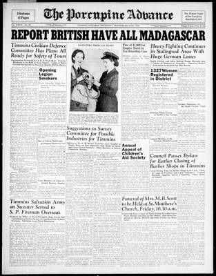 Porcupine Advance, 24 Sep 1942
