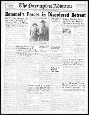 Porcupine Advance, 5 Nov 1942