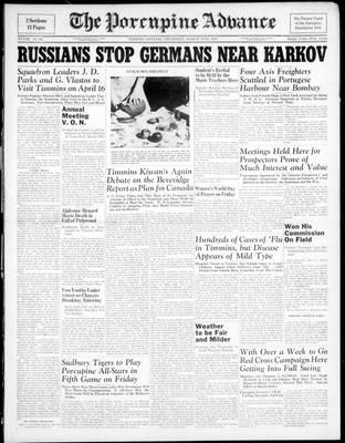 Porcupine Advance, 11 Mar 1943