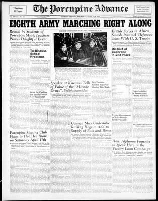 Porcupine Advance, 8 Apr 1943