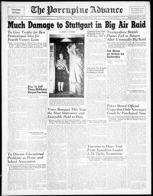 Porcupine Advance, 15 Apr 1943