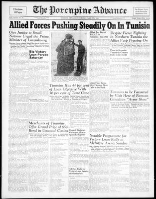 Porcupine Advance, 6 May 1943