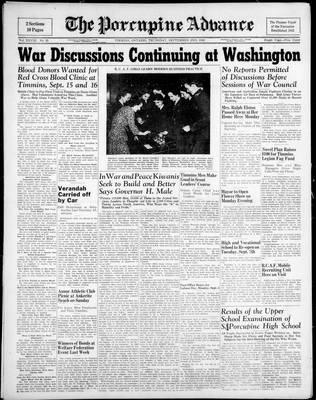 Porcupine Advance, 2 Sep 1943