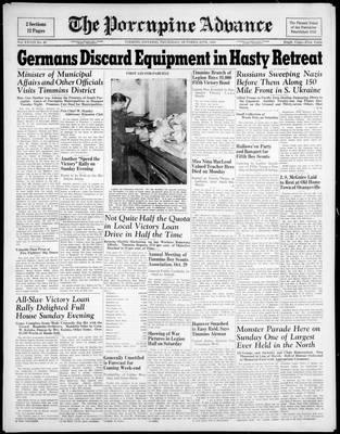 Porcupine Advance, 28 Oct 1943