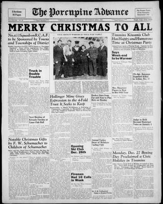 Porcupine Advance, 23 Dec 1943