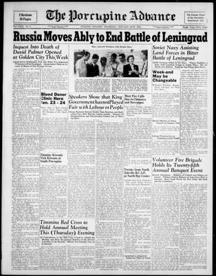 Porcupine Advance, 20 Jan 1944