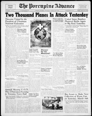 Porcupine Advance, 9 Mar 1944