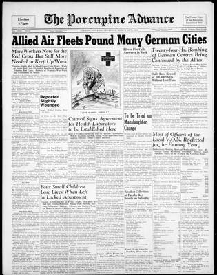 Porcupine Advance, 16 Mar 1944
