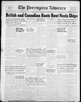 Porcupine Advance, 27 Apr 1944