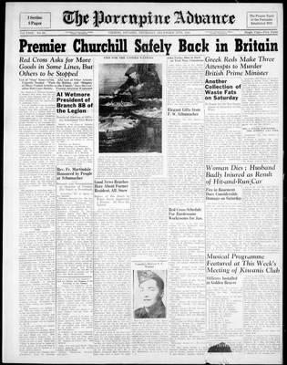 Porcupine Advance, 28 Dec 1944